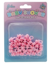 BABY SHOWER PACIFIERS PINK 32