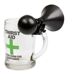 Beer Mug With Horn (Thirst Aid)