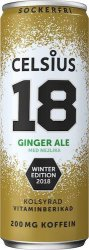 Celsius Ginger Ale 355ml
