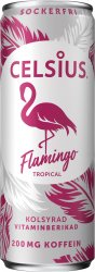 Celsius Flamingo Tropical 355ml