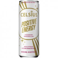 Celsius Positive Energy Strawberry-Marshmallow 355ml