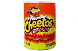 Cheetos Crunchy Flamin' Hot Canister (120g)