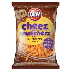 Cheez Cruncherz Texas Ranch