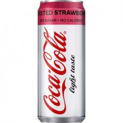 Coca Cola Light Strawberry