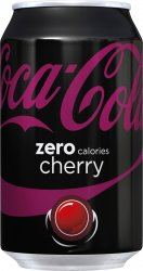 Coca cola zero Cherry 33cl