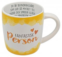 Enjoy mugg Fantastisk Person