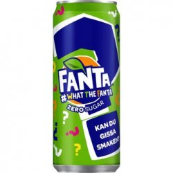 Fanta Zero Whatthefanta Ltd 330ml