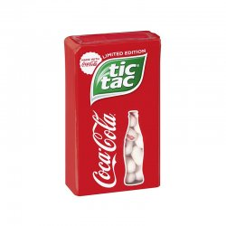 Tic Tac Coca-Cola Limited Edition 49g