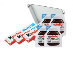 Ferrero kinder nutella box