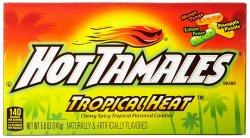 Hot Tamales Tropical Heat (141g)