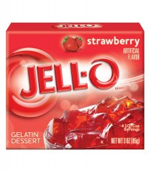 Jell-O Strawberry Gelatine Dessert