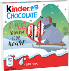 KINDER CHOCOLATE 4P 50G