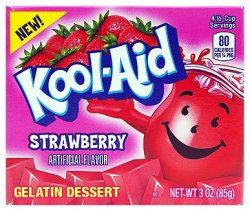 Kool-Aid Strawberry Jelly (Gelatin Dessert)