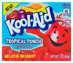 Kool-Aid Tropical Punch Jelly (Gelatin Dessert)