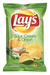 Lay's Sourcream & Onion 175g