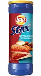 Lay's Stax Buffalo Wings with Ranch (156g)