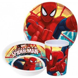 Matset Spider man dinner set