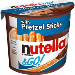 Nutella & Go! Prezel Sticks