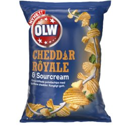 OLW Cheddar Royale & Sourcream