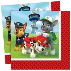 Paw Patrol Napkin (20 pieces)