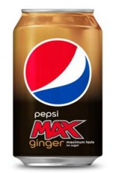 Pepsi Max Ginger 33cl