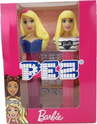 PEZ Barbie Gift Set Bow & Heart