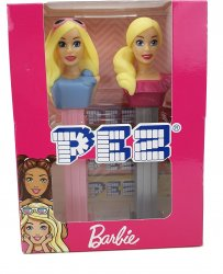PEZ Barbie Gift Set Sunglasses & Ponytail