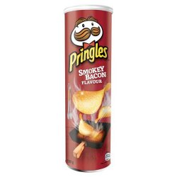PRINGLES SMOKEY BACON 190 g