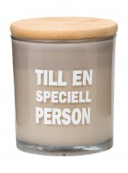 Scented Glass Candle Till En Speciell Person