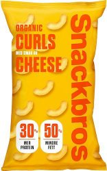 Snackbros Organic Curls Cheese