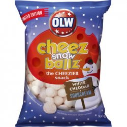 Olw Snowballz Cheez 160g