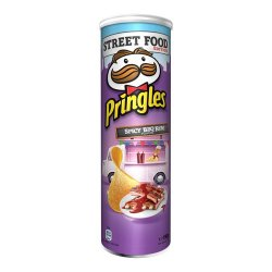 Pringles Spicy BBQ Ribs Flavour 190g