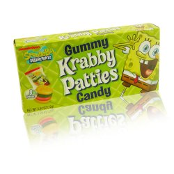 Spongebob Squarepants Gummy Krabby Patties (72g)