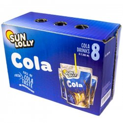 Sun Lolly Drinks 8-Pack