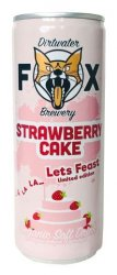 The Dirtwater Fox Strawberry Cake