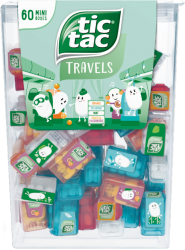 Tic Tac Travels 60 Mini Boxes