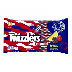 Twizzlers Red White and Blue Pull'n'Peel Twists