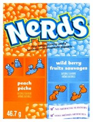 Wonka Nerds Wildberry & Peach 47g