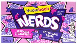 Wonka Nerds Grape & Strawberry (141g)