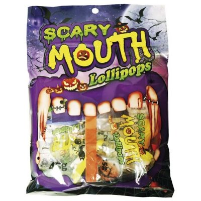 Scary Mouth Pop Bag