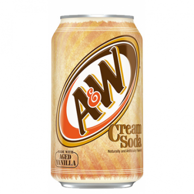 A&W Cream Soda (355ml)
