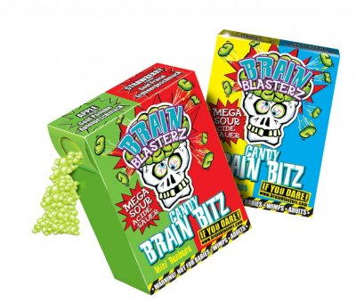 Brainblasterz 'Candy Brain Bitz' Apple - Strawberry