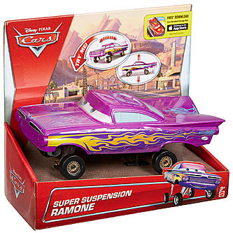 cars super suspension ramone