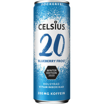 Celsius Blueberry Winter Edition 355ml