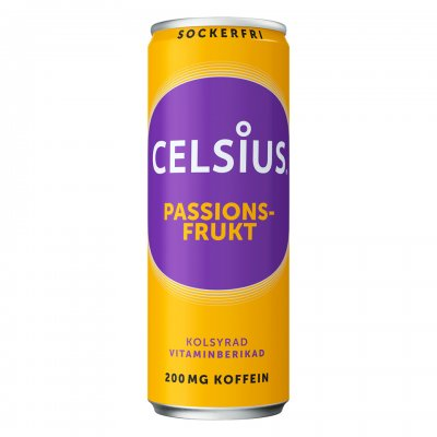 Celsius Passionsfrukt 355ml