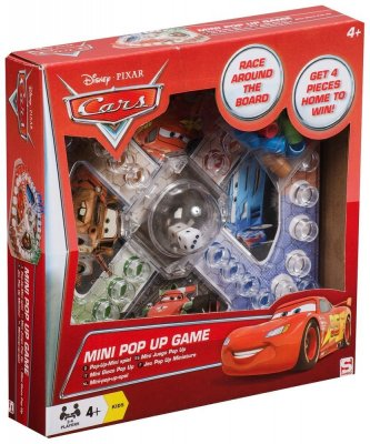 Disney Cars Mini Pop Up Game