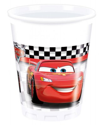 Disney Cars Muggar 8st (200 ml)