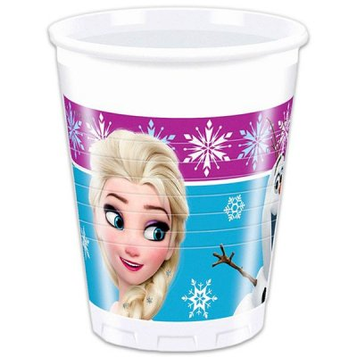 Disney Frozen Muggar 8st (200 ml)
