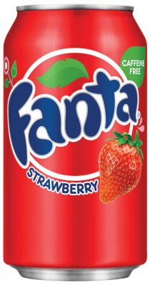 Fanta Strawberry Jordgubb