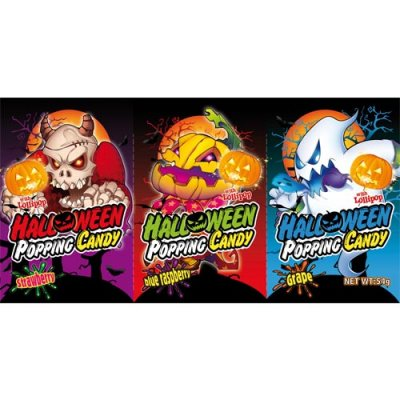 HALLOWEEN POPPING CANDY 3 PACK